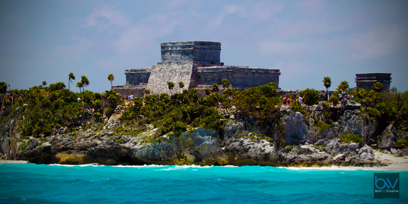 Tulum from sea 3